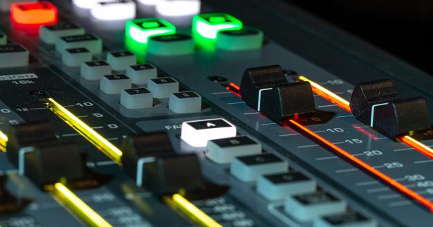 mixer dźwięku
